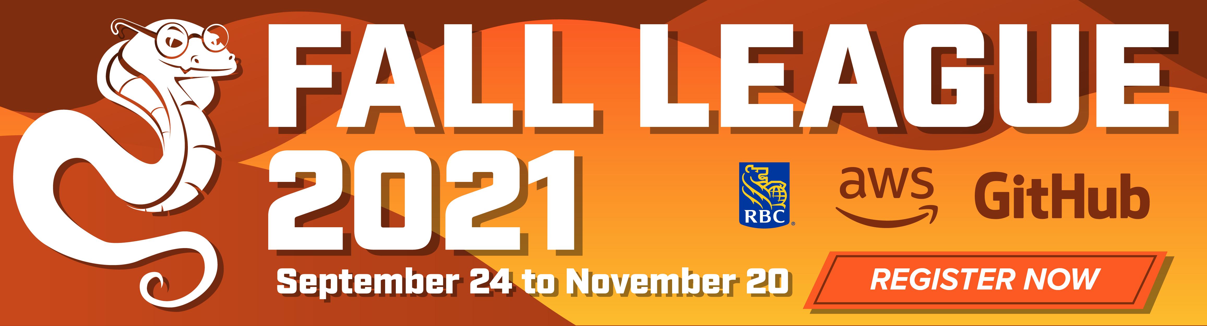 Fall League 2021 Reg